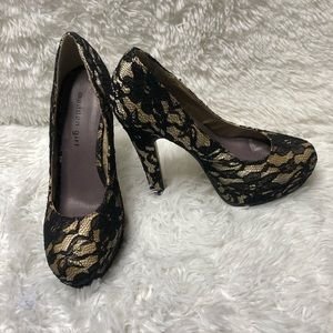 Steve Madden Mellony Lace Shoes 7